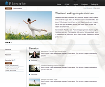 Elevate Joomla Theme