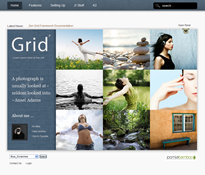 Grid Joomla Theme