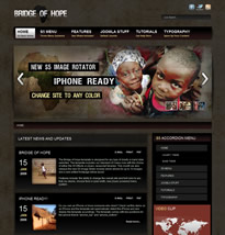 Hope theme for Joomla from Shape 5