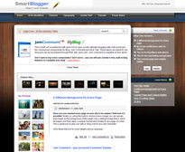 Blog theme for Joomla