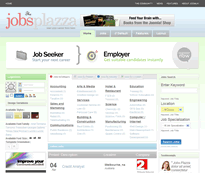 Job listing component and theme