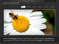 Photo folio theme for Joomla