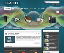 Clarity theme for Joomla from Shape 5