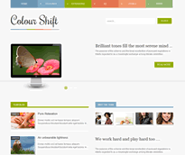 Joomla themes with a hub